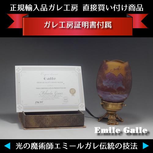 ◆ 希少 ◆ 証明書付き◆ 高さ20cm エミール ガレ 花器 カメオ彫りアンティーク 骨董 R0043_画像8