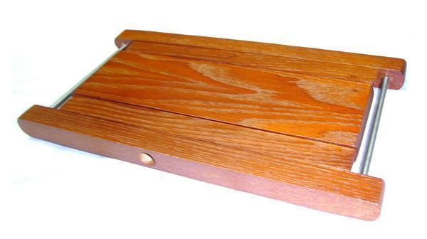 E楽器★即決新品★足台★高さ4段階★木製ギター足台★演奏用足台_画像2