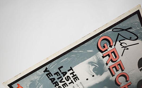 国内プロモ盤LP THE LAST FIVE YEARS RICK GRECH リック・グレッチ 寄付品_画像8