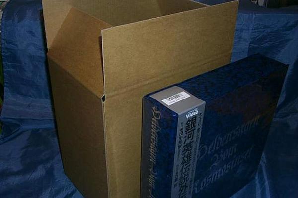 (サプライ) LD・LP保管/梱包用 強化段ボール箱 5枚セット (C36)_画像2