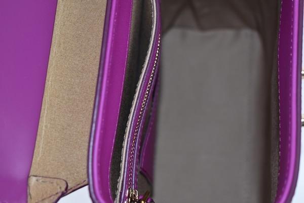MCM/エムシーエム バケッタレザー クロスボディバッグ トランクバッグ soft berlin vachetta カラー:パープル 19n02_画像6