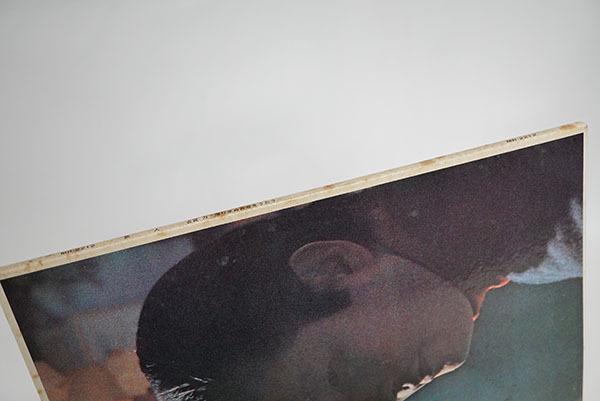 国内プロモ盤LP 古賀力 旅人 帰り来ぬ青春をうたう レア品 寄付品_画像4