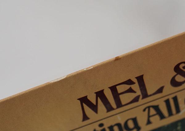 国内プロモ盤LP Mel&Tim Starting All Over Again メル&ティム レコード 寄付品_画像5