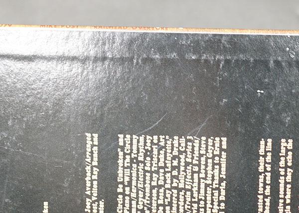 国内プロモ盤LP Railhead Overture マイク・ポスト MIKE POST ロック ポップス レコード 寄付品_画像6