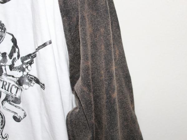 サディスティックアクション SADISTIC ACTION メンズ長袖ラグランTシャツ Mサイズ NO20 新品_画像2