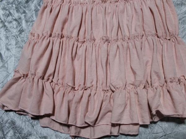 イタリア製 レディーススカート ピンク Sサイズ 新品_画像2