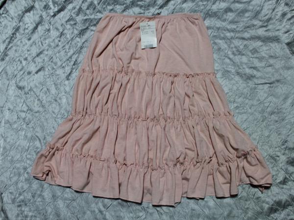 イタリア製 レディーススカート ピンク Sサイズ 新品_画像3