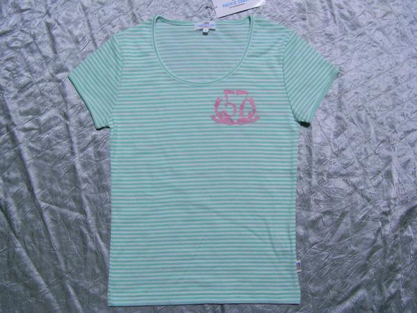 パシフィックコースト PACIFIC COAST レディース半袖Tシャツ ライム Mサイズ 新品_画像1