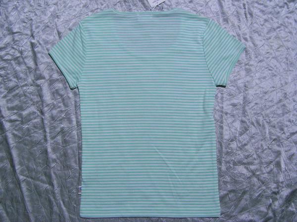 パシフィックコースト PACIFIC COAST レディース半袖Tシャツ ライム Mサイズ 新品_画像3