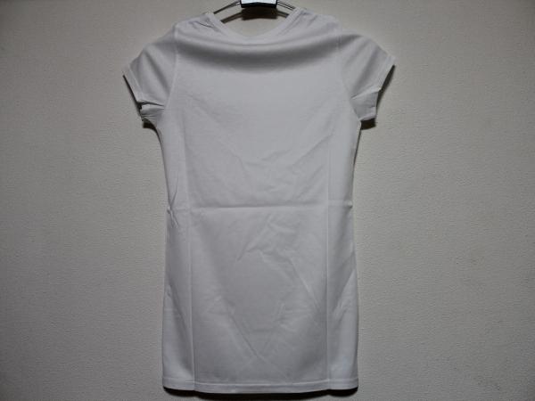 デスピエール DES PIERRE レディース半袖Tシャツ ホワイト 日本約S 新品 DPW-80019_画像3