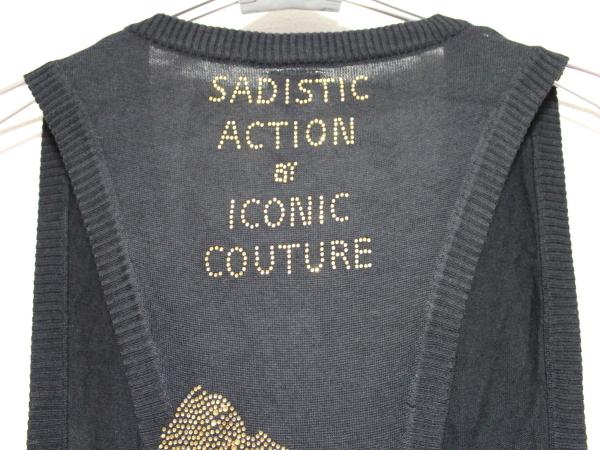 サディスティックアクション Sadistic Action マイケルジャクソン レディースベスト 新品_画像3