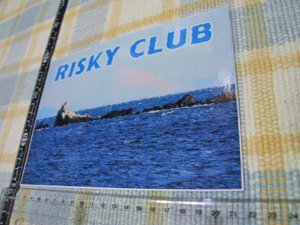 Risky Club/リスキークラブ/ステッカー/シール/C ※ ヤフーショッピングストア/レア物商会・健美堂でも大量出品中!_画像1