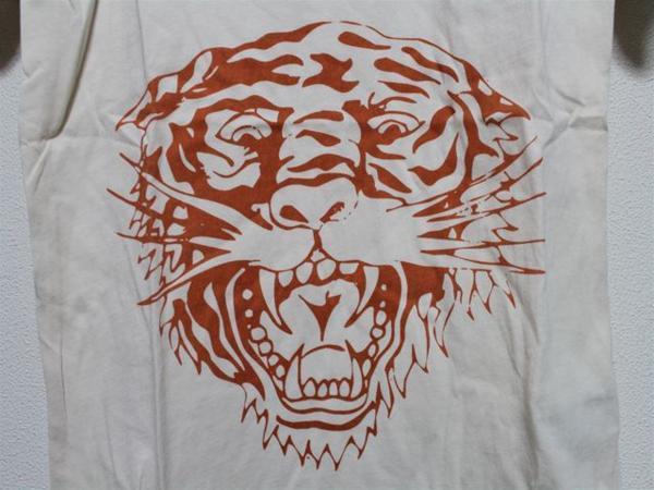 エドハーディー ED HARDY レディース半袖Tシャツ Mサイズ PR091 新品 TIGER_画像2