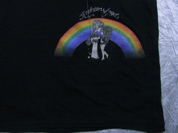 ロックスターズエンジェルス ROCKSTARS&ANGELS メンズ半袖Tシャツ ブラック Sサイズ 新品_画像2