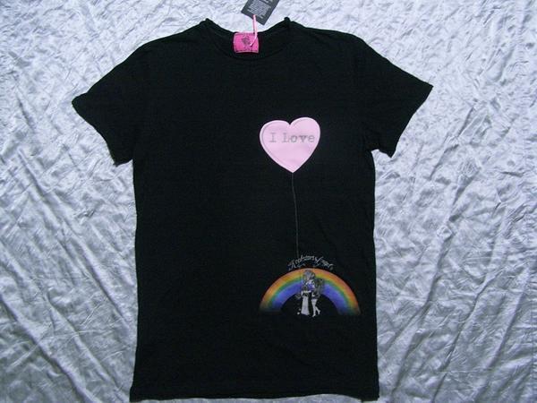 ロックスターズエンジェルス ROCKSTARS&ANGELS メンズ半袖Tシャツ ブラック Sサイズ 新品_画像1