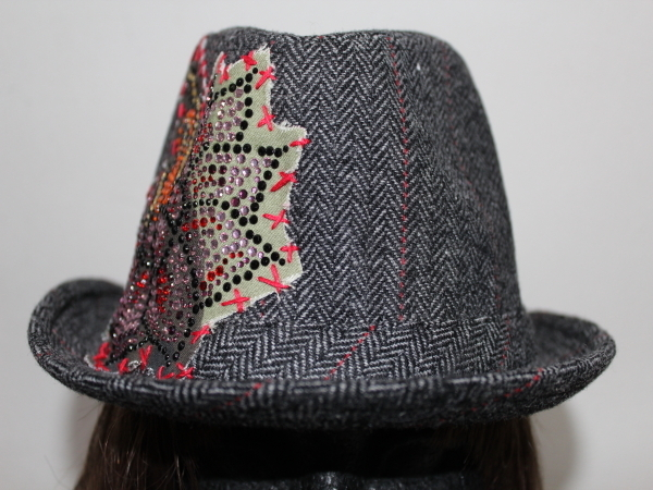 アイコニック Iconic Couture ハット 帽子 グレー 新品_画像2