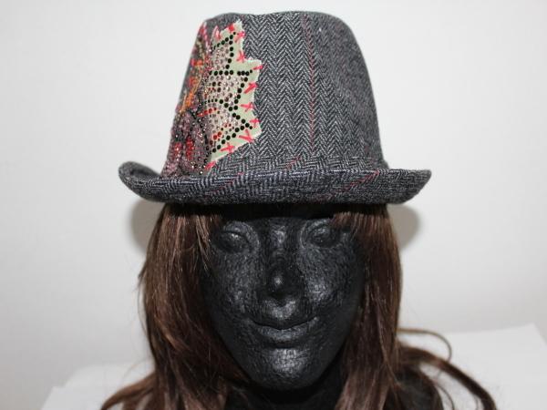 アイコニック Iconic Couture ハット 帽子 グレー 新品_画像1