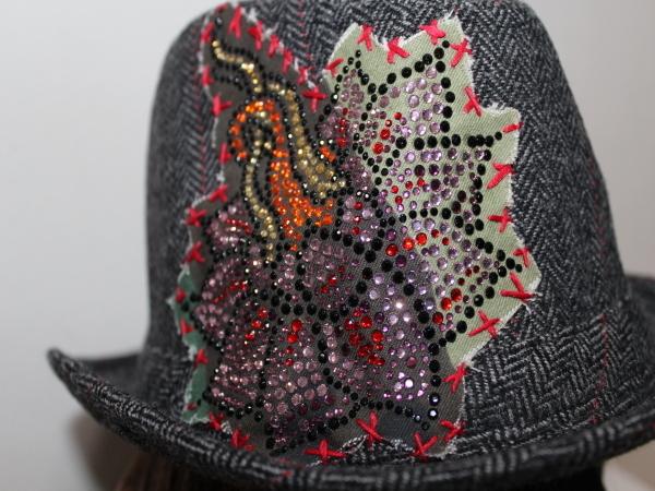 アイコニック Iconic Couture ハット 帽子 グレー 新品_画像3