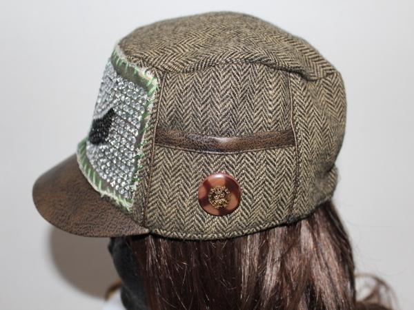 アイコニック Iconic Couture アーミーキャップ ミリタリー 帽子 新品_画像4