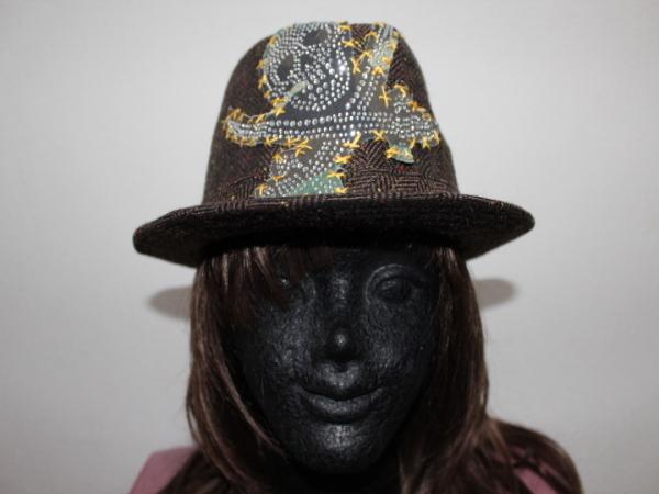 アイコニック Iconic Couture ハット 帽子 ブラウン 新品_画像1