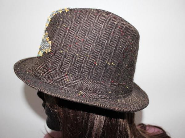 アイコニック Iconic Couture ハット 帽子 ブラウン 新品_画像3