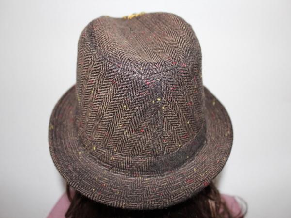 アイコニック Iconic Couture ハット 帽子 ブラウン 新品_画像4