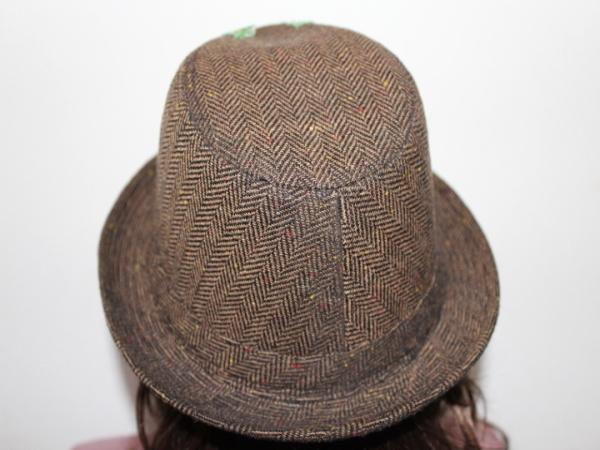アイコニック Iconic Couture ハット 帽子 ブラウン NO4 新品_画像4