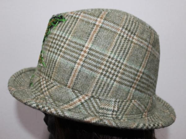 アイコニック Iconic Couture ハット 帽子 グリーン NO6 新品_画像3