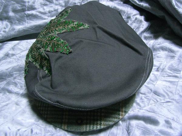 アイコニック Iconic Couture ハンチング 帽子 グレー 新品_画像1