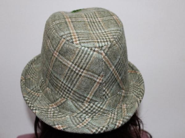 アイコニック Iconic Couture ハット 帽子 グリーン NO6 新品_画像4