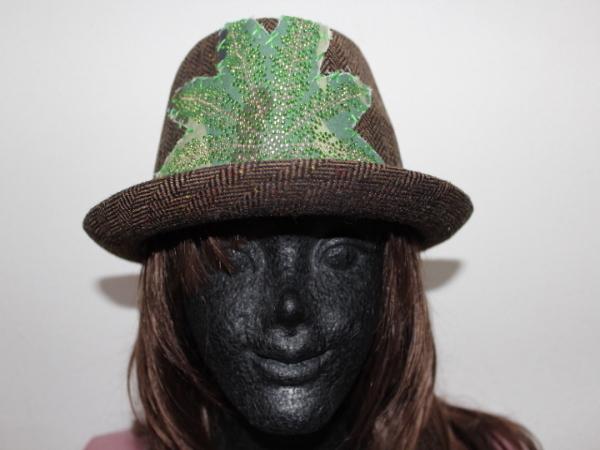 アイコニック Iconic Couture ハット 帽子 ブラウン NO4 新品_画像1