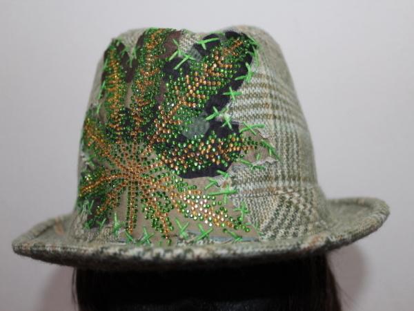 アイコニック Iconic Couture ハット 帽子 グリーン NO6 新品_画像2