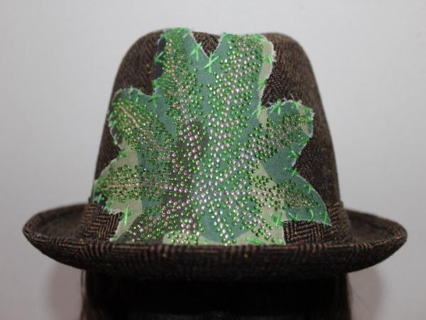 アイコニック Iconic Couture ハット 帽子 ブラウン NO4 新品_画像2