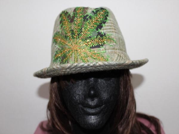 アイコニック Iconic Couture ハット 帽子 グリーン NO6 新品_画像1