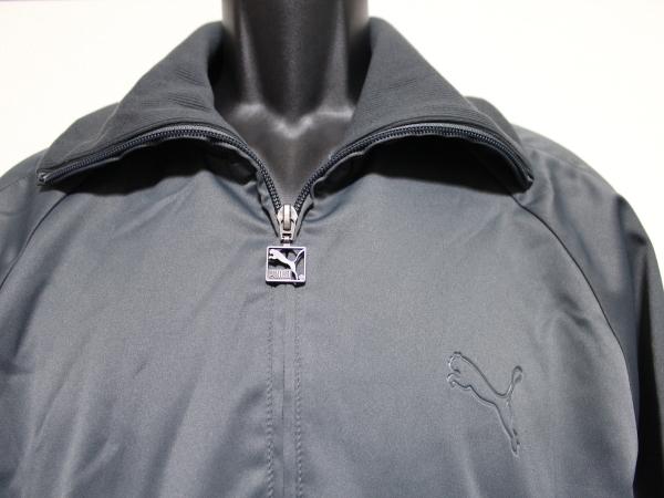 プーマ PUMA メンズ ジャージトップ ジャケット グレー Lサイズ 新品_画像2