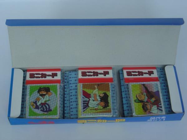 1990年代★アマダ★おれは直角★ミニカード★30パック入り未使用BOX★_画像2