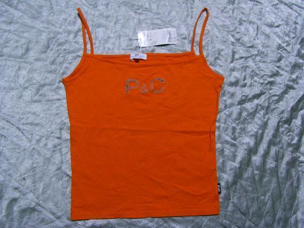 パシフィックコースト PACIFIC COAST レディースキャミソール オレンジ Lサイズ マクレガー 新品_画像1