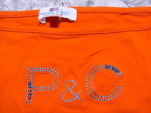 パシフィックコースト PACIFIC COAST レディースキャミソール オレンジ Lサイズ マクレガー 新品_画像2