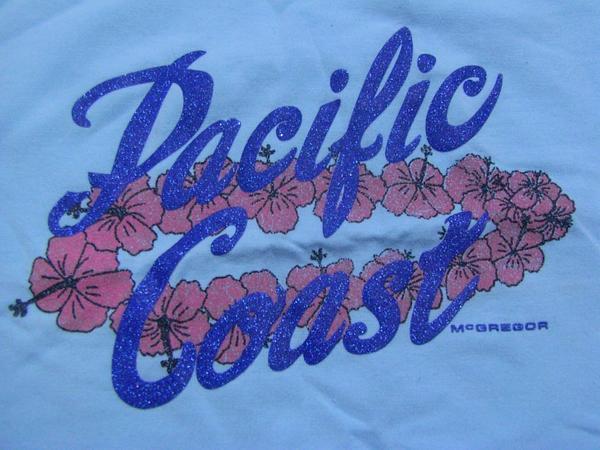 パシフィックコースト PACIFIC COAST レディースキャミソール ブルー Lサイズ マクレガー 新品_画像2