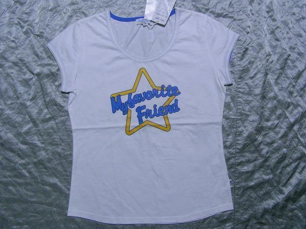 パシフィックコースト PACIFIC COAST レディース半袖Tシャツ ホワイトMサイズ 新品_画像1