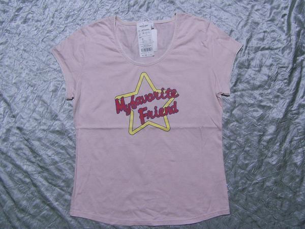 パシフィックコースト PACIFIC COAST レディース半袖Tシャツ ピンク Mサイズ 新品_画像1