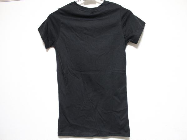 SUNDAY21 レディース半袖Tシャツ ブラック Sサイズ イタリア製 NO9 新品_画像3