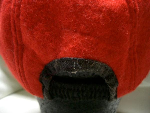 ニューヨークハット NEW YORK HAT ウールキャップ レッド 新品_画像3