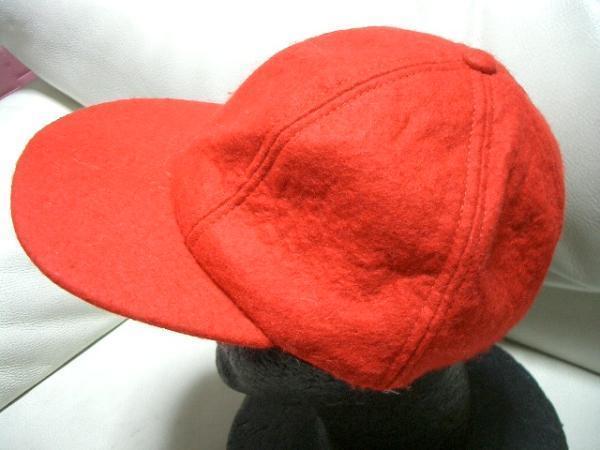 ニューヨークハット NEW YORK HAT ウールキャップ レッド 新品_画像2