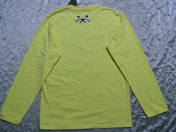 ポニー PONY メンズ長袖Tシャツ イエロー Mサイズ 新品_画像3