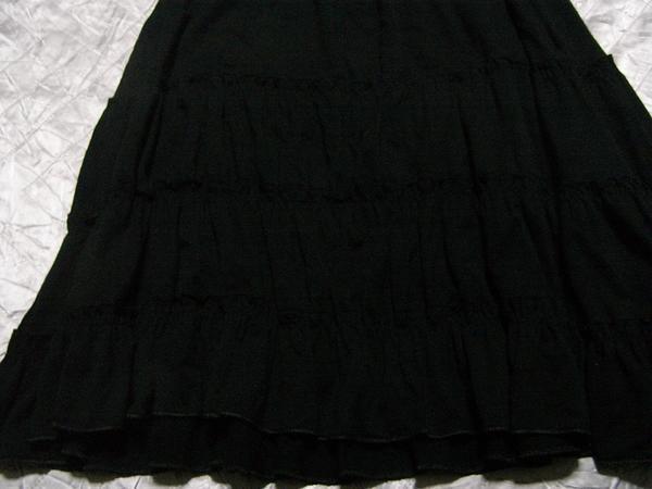 イタリア製 レディーススカート ブラック Mサイズ 新品_画像2