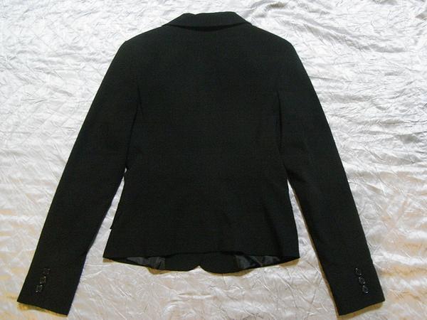 イタリア製 Linea レディースジャケット ブラック XSサイズ 新品_画像3