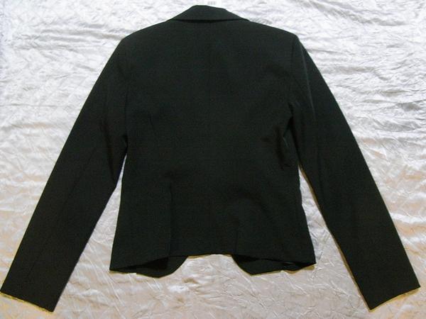 イタリア製 Linea レディースジャケット ブラック Sサイズ リボン 新品_画像3