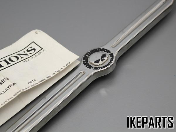 展示品 ハーレー 06~17年ダイナモデルでフォワコン装着車 純正 カスタム・ギアシフトリンケージ スカル 「34848-09」 A336J0241_画像2