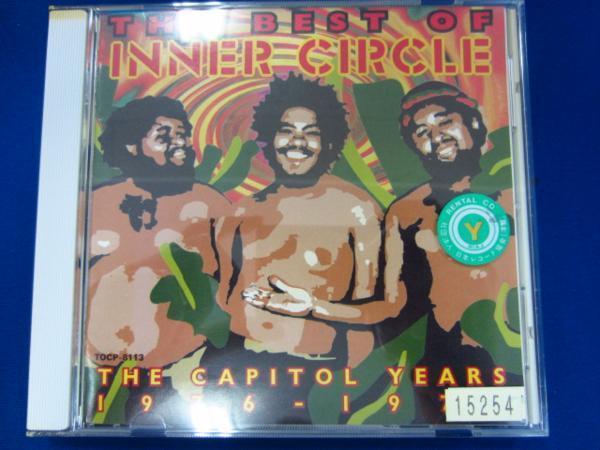 h11 レンタル版CD ベスト・オブ・インナー・サークル/キャピトル・イヤーズ1976~1977/インナー・サークル 15254_画像1